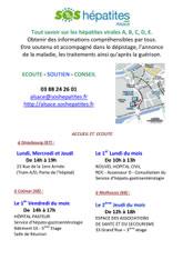 Lieux d'accueil SOS hépatites Alsace